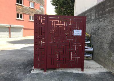Clôture sur mesure pour la mairie de Jassans-Riottier dans l'AIN - Avenue de la Plage