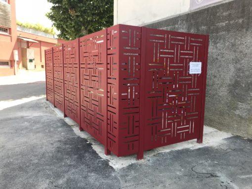 Clôture sur mesure pour la mairie de Jassans-Riottier dans l'AIN – Avenue de la Plage