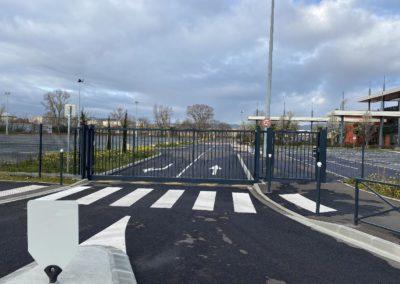 Fabrication sur mesure Portillon et portail au Parc Expo – Villefranche-sur-Saône